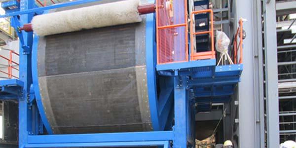 Camera di formazione tamburo lana di roccia