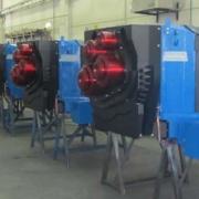 Fiberizer spinning machine
