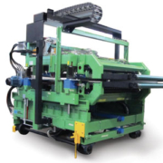 Crimping machine - glass wool