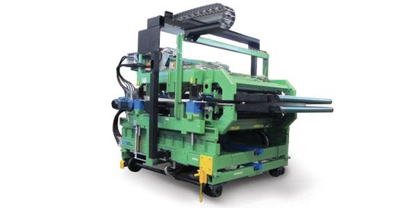 Crimping machine - glass wool