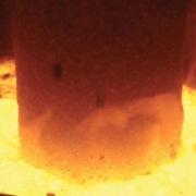 Forno di fusione elettrico lana di roccia