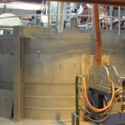 Forno di fusione lana di vetro