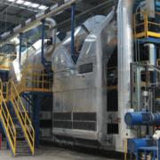 Forno di polimerizzazione per lana di vetro