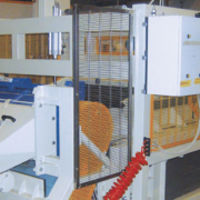 System to recover production waste - glass wool