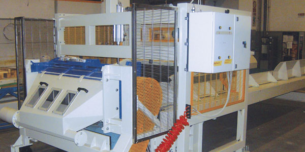 System to recover production waste