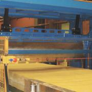 Particolare ghigliottina per lana di vetro