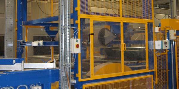 Heated roller - glass wool