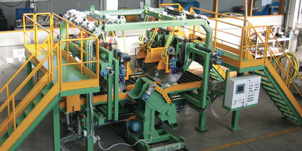 Cutting units - glass wool