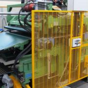 Unità di orientamento fibra lana di vetro